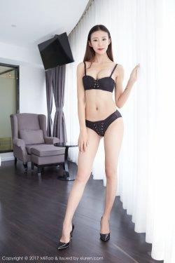 安琪拉Angela《内衣和黑丝》 [蜜桃社MiiTao] Vol.083