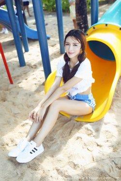 伊莉娜《海边沙滩女神系列》 [糖果画报CANDY] VOL.024