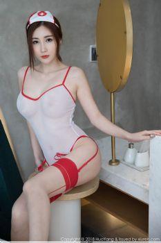 气质女神孙梦瑶 惹火性感护士制服图片