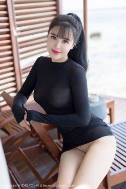 刘钰儿《火辣的透视黑丝魅惑》 [尤蜜荟YouMi] Vol.117